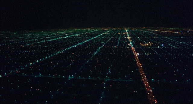 Koyaanisqatsi night city