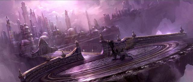 WarCraft концепт-арт