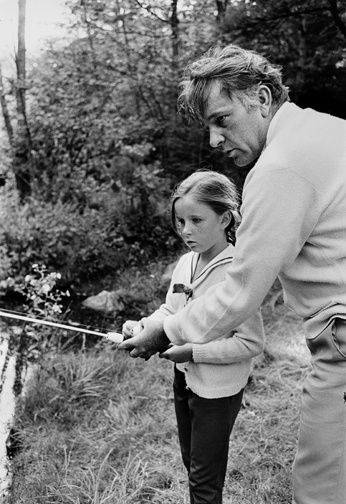 Burton-fishing-with-daughter-Kate