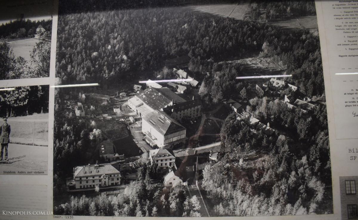 Фото кіномістечка з повітря