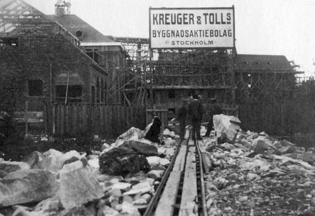 Будівництво кіномістечка (1919)